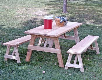 Деревянные столы и лавки для дачи своими руками чертежи